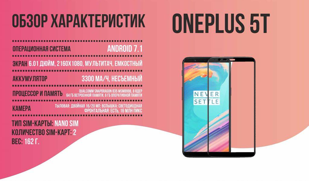 OnePlus 5T_обзор